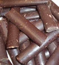 "Guittard Chocolate - ""Semi - Sweet Dark Chocolate Batons"", 1 lb Bag, Repackaged"