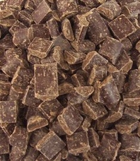 "Guittard Chocolate - ""Semi - Sweet Dark Chocolate Cookie Chunks"", 600ct. Per Pound, 25 Pound Case"
