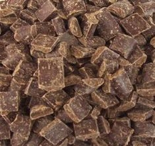 "Guittard Chocolate - ""Semi - Sweet Dark Chocolate Cookie Chunks"", 600ct. Per Pound, 1 Pound, Repackaged"