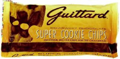 "Guittard Chocolate - ""Super Cookie Chips"" Semisweet Chocolate, 10oz./283g(6 pack)"