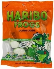 Haribo Frogs 5oz./142 grams SINGLE