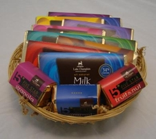 Lake Champlain Chocolates Gift Basket