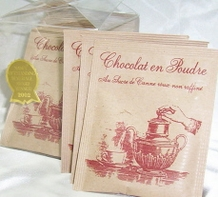 Les Confitures 'a l' Ancienne - Award Winning Powdered Hot Chocolate, 14 Packets.