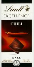 "Lindt Chocolate - Excellence Dark Chocolate with ""Chili"", 100g/3.5oz. (12 Pack)"
