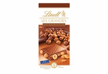"Lindt Chocolate - Lindt Grandeur ""Milk Chocolate with Whole Hazelnuts"", 5.3oz./150g (6 Pack)"