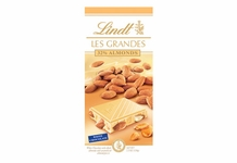 "Lindt Chocolate - Lindt Grandeur ""White Chocolate with Whole Almonds"", 5.3oz./150g (13 Pack)"