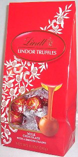 "Lindt Swiss Chocolate - Lindor Truffles ""Milk Chocolate with a Smooth Filling!"", 21 Piece Bag, 240g/8.5oz. (6 Pack)"