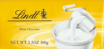 Lindt - Swiss White Chocolate, 100g/3.5oz (6 Pack)