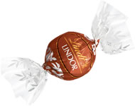 Lindt Truffle - Lindt Lindor Truffles Milk Chocolate / Hazelnut (brown wrap),(120ct) 6 Box case