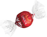 Lindt Truffle - Lindt Lindor Truffles Milk Chocolate (red wrap), 12 Box Case