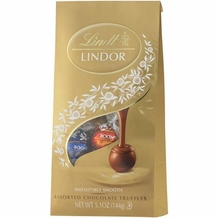 "Lindt Truffle - Lindt Lindor Truffles Milk, Dark and White ""12 Piece assorted bag"", 144g/5.1oz. (Single)"