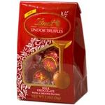 "Lindt Truffle - Milk Chocolate Lindor Truffle ""3 Piece Truffle Pack"", 10 Box Case"
