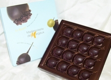 Mademoiselle De Margaux - Dark Chocolate Covered Grapes with Rum, 190g/6.7oz.