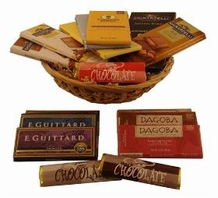 "Medium ""American Chocolate Gift Basket"""