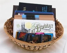 "Medium ""French Chocolate Gift Basket"""