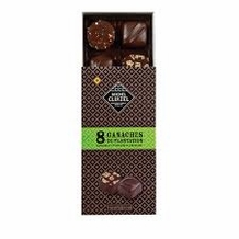 "Michel Cluizel - ""8 Piece Ganache"" Dark & Milk Single Origin, 85g/2.9oz. (Single)."