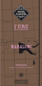 "Michel Cluizel Chocolate - 47% 1st Cru de Plantation ""Maralumi"" MILK Chocolate, Single Estate, 70g/2.46oz. (Single)."