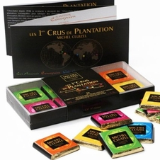 "Michel Cluizel French Chocolate - 16 Piece ""Cru de Plantation"" Gift Box, 80g/2.8oz. (Single)."