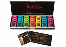 "Michel Cluizel French Chocolate - 28 Piece ""Single Estate"" Gift Box, 140g/4.9oz."