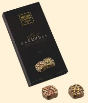 "Michel Cluizel French Chocolate - 8 Piece ""Ganache Gift Box, 99% & 85% Cocoa, 85g/2.9oz. (Single)."