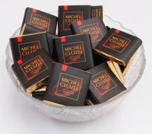 "Michel Cluizel French Chocolate - 85% Cocoa ""Grand Noir"" Dark Chocolate,5gr. ea., 12ct. Bag (Single)."
