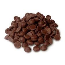 """Michel Cluizel French Chocolate - Couverture Pastilles 45% Cocoa """"Kayambe Lait"""", 2lb Repackaged (Single)."""