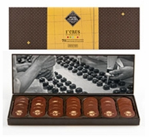 "Michel Cluizel French Chocolate - Les Nuancier ""The Pure Origins of the World"", 70 Pallets, 240g/8.46oz. (Single)."