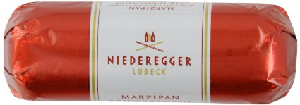 """Niederegger - """"Chocolate covered Marzipan"""", 4.4oz./125g (5 Pack)"""