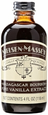 Nielsen Massey- Madagascar Bourbon Pure Vanilla Extract 4oz (Single)