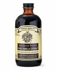 Nielsen Massey- Madagascar Bourbon Pure Vanilla Extract 8oz (Single)