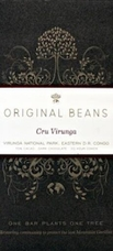 Original Beans Cru Virunga - D.R. Congo - 70% Dark Chocolate - 2.46 oz. (6 Pack)