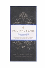 Original Beans Esmeralda Milk - Ecuador - 42% Organic Chocolate - 2.46 oz. (13 Pack)