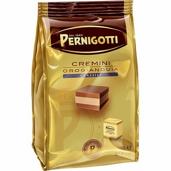 Pernigotti Cremino, Soft Hazelnut & Almond Praline, Bag, 150g / 5.29oz (Single)
