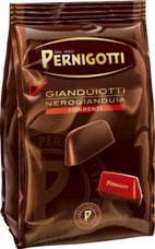 Pernigotti Gianduiotti Fondente, Dark Hazelnut Chocolates, 150g / 5.29oz (4 Pack)
