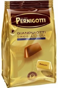 Pernigotti Gianduiotti, Milk Hazelnut Chocolates, 150g / 5.29oz (4 Bags)