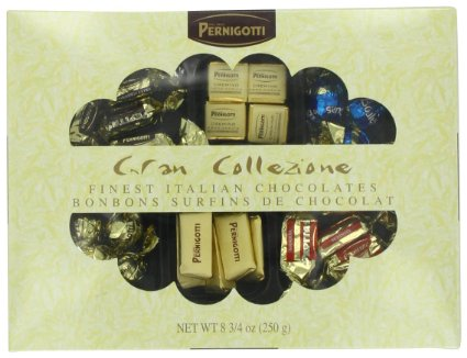 Pernigotti Gran Collezione - Collection of Best Selling Italian Milk Chocolates 8.8 oz / 250 g (Single)