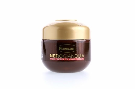 Pernigotti NeroGianduia Dark Chocolate Hazelnut Spread, 200g / 7oz (Single)