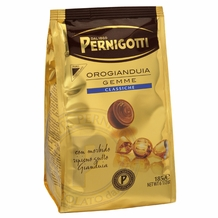 Pernigotti Orogianduia Gemme Milk Chocolates with a creamy hazelnut filling , 123g /4.34oz