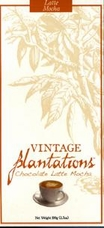 "Plantations Chocolate - ""Latte Mocha Bar"", 100g/3.5oz."