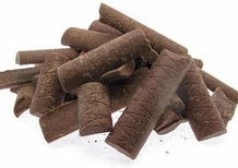 """Plantations Chocolate - """"Milk Chocolate Couverture Chunks"""" 38% Cocoa, Repackaged, 2.2lb/1kg."""