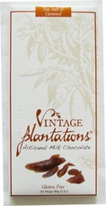 "Plantations Chocolate - ""Sea Salt & Caramel"", Milk Chocolate, Gluten Free, 100g/3.5oz."