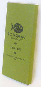 Potomac Chocolate Upala 82% Dark Chocolate, 57g / 2oz (Single)