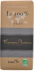 Pralus French Chocolate - Pure Dark Chocolate, 100% Cocoa, 100g/3.5oz.