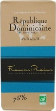 "Pralus ""Republique Dominicaine"", Trinitario - Single Origin, French Dark Chocolate, 75% Cocoa, 100g/3.5oz. (5 Pack)"