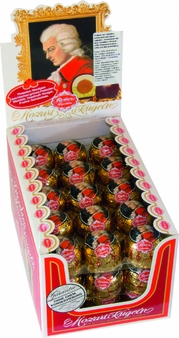 Reber Mozart Kugel,45 Piece Box