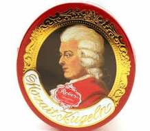 Reber Mozart Kugeln Filled Chocolates, 7.8 oz /220g
