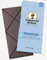 "Scharffen Berger Gourmet Chocolate - ""Semisweet Dark Chocolate Bar"" 62% Cocoa, 85g/3.0oz."