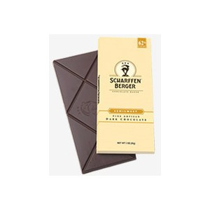 "Scharffen Berger Gourmet Chocolate - ""Semisweet Dark Chocolate Bar"" 62% Cocoa, 85g/3.0oz (6 Pack)."