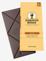 "Scharffen Berger Gourmet Chocolate - ""Extra Rich Milk Chocolate Bar"" 41% Cocoa, 85g/3.0oz (Single)."
