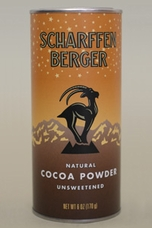 Scharffen Berger Gourmet Chocolate - Natural Cocoa Powder Unsweetened, 170g/6.0oz. (3 Pack)